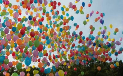 Lâcher de Ballons à Saint-Roch